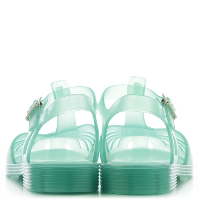 Melissa Kids Aranha 1979 Blue Jelly Shoe