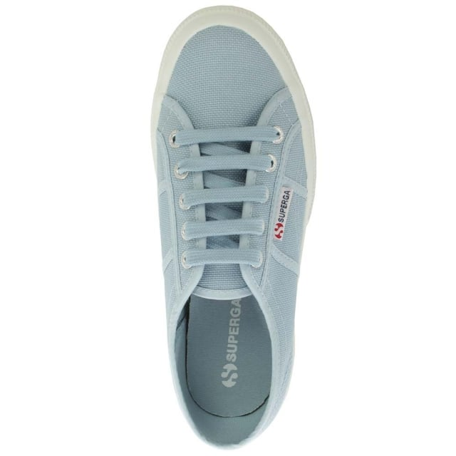 Superga Cotu 2750 Blue Canvas Lace Up Trainer
