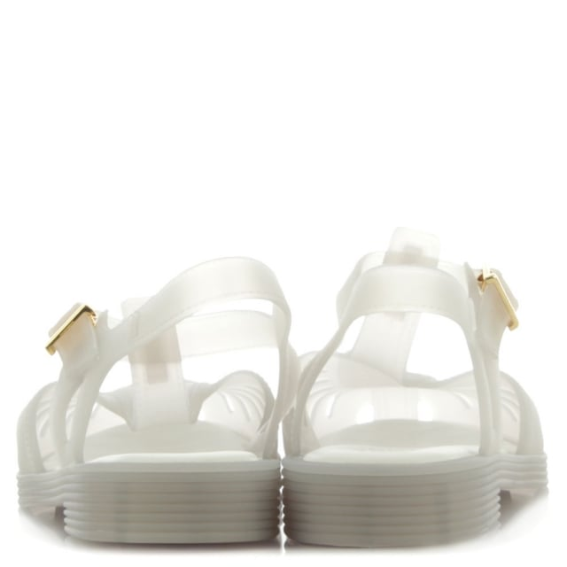 Melissa Kids Aranha 1979 White Jelly Shoe