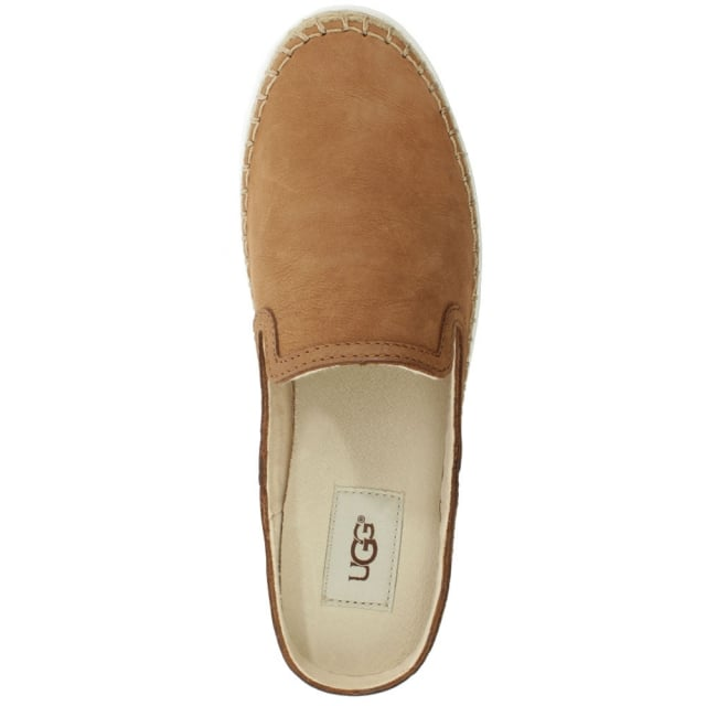 UGG Caleel Chestnut Backless Trainer