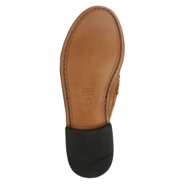Daniel Aiton Tan Suede Penny Loafer