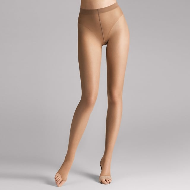 Wolford Caramel Luxe 9 Toeless Tight