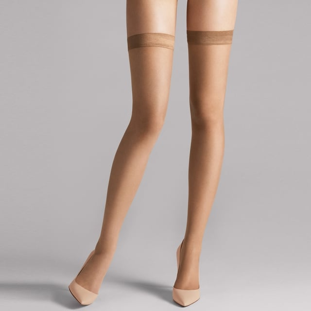 Wolford Caramel Naked 8 Stay Up Stocking