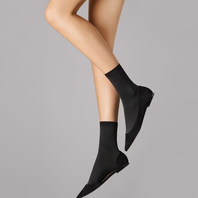 Wolford Velvet Black Women's Socks