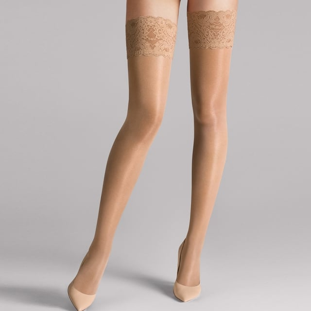 Wolford Satin Touch Gobi Stay Up Women's Stockings