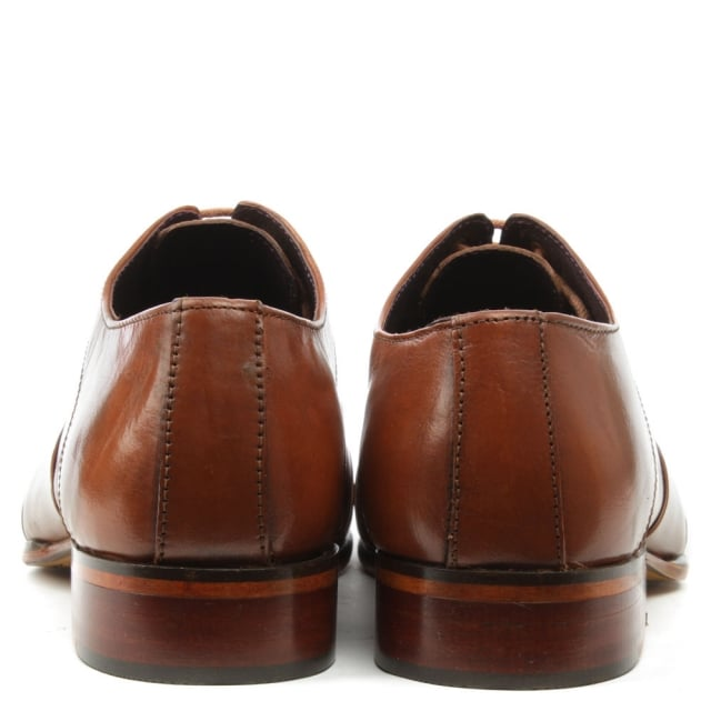Gucinari Tan Leather Lace Up Brogue