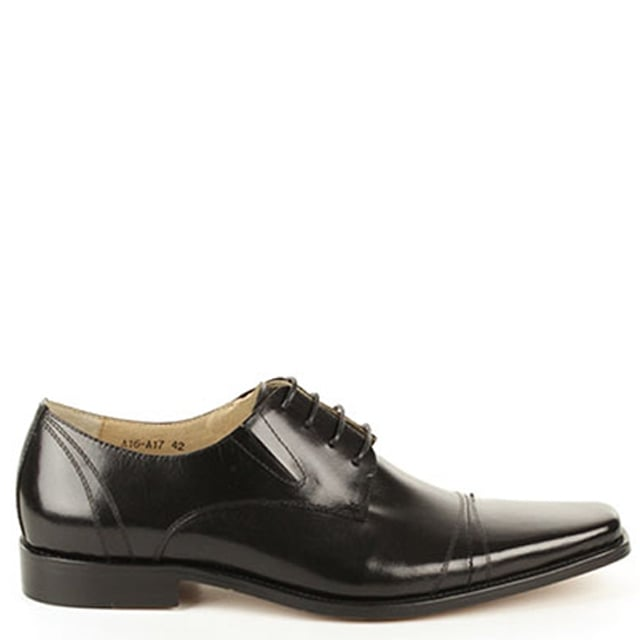 Daniel Black Wareham Smart Leather Lace Up