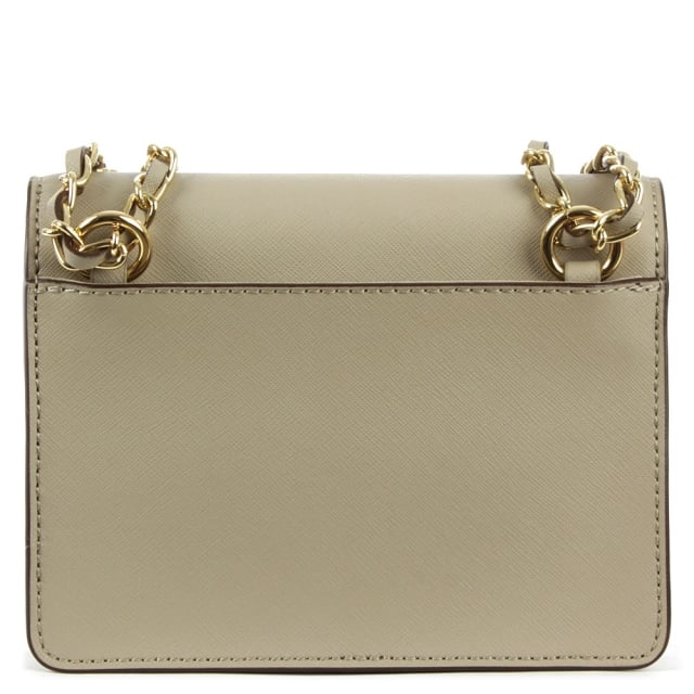 DKNY Bryant Mini Flap Soft Desert Leather Cross-Body Bag