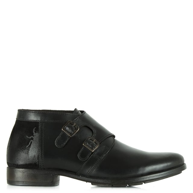 Fly London Black Fly Pio Men's Ankle Boot