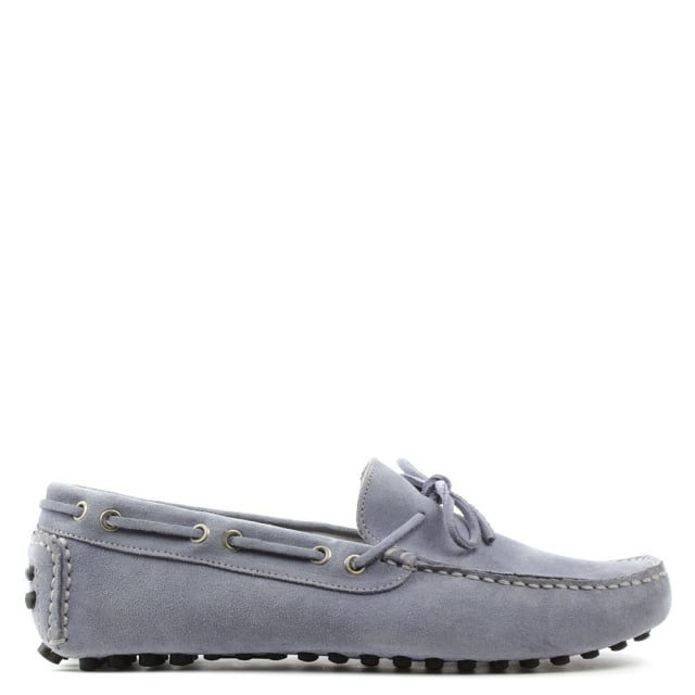 Roman Rock Rocky 104 Purple Suede Driving Moccasin
