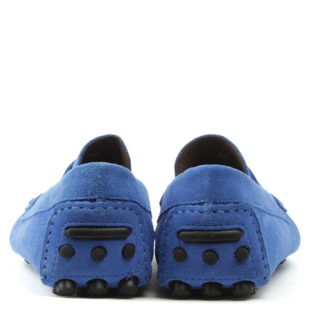 Roman Rock Rocky 103 Blue Suede Loafer