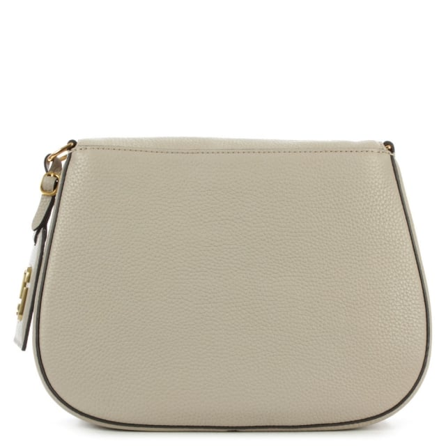 Marc Jacobs Gotham City Taupe Leather Saddle Bag