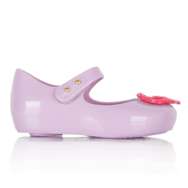Vivienne Westwood Mini Ultragirl Heart Purple Kids Shoe