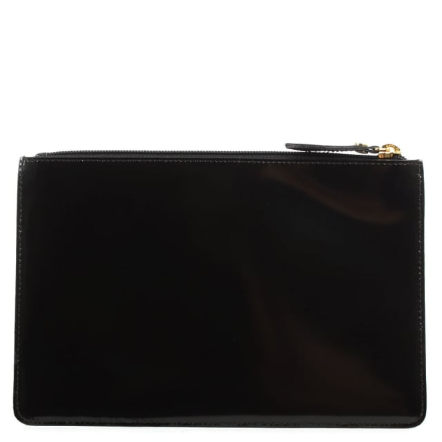 Vivienne Westwood Anglomania Newcastle Black Leather Pouch