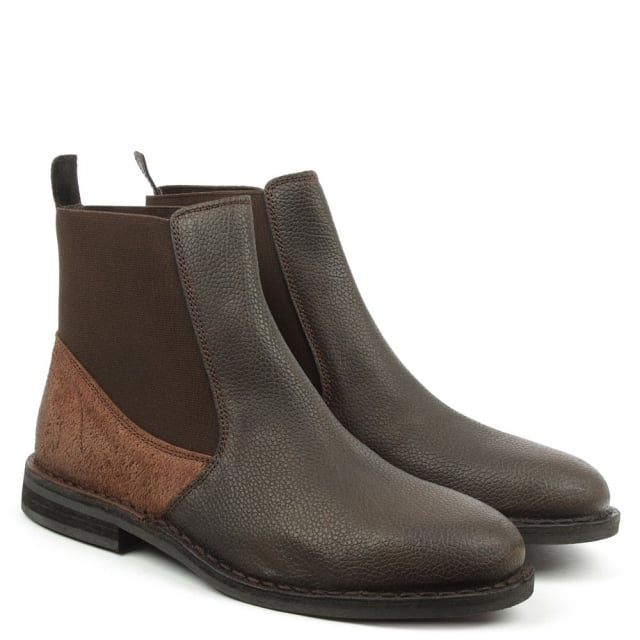 Fly London Wack Brown Leather Chelsea Boot