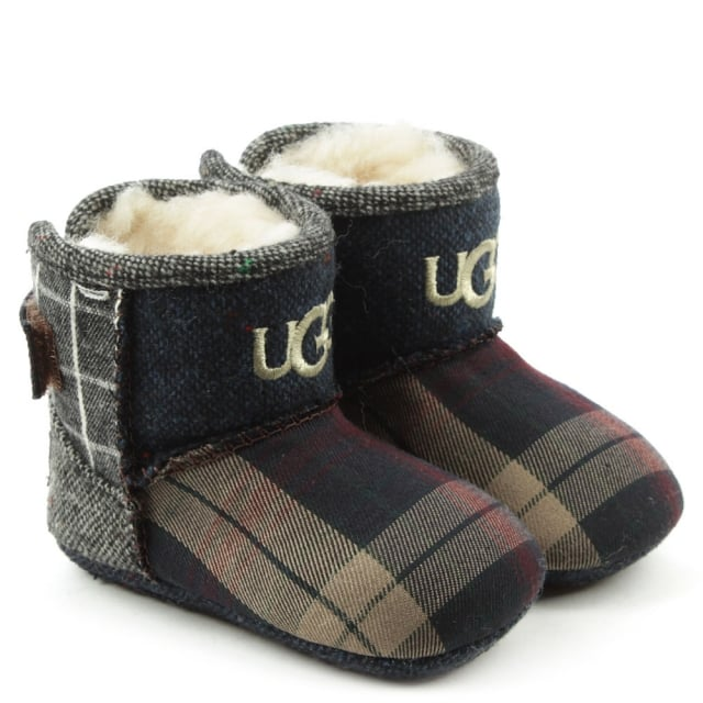 UGG Kids Jesse Thriller Multicoloured Patchwork Bootie