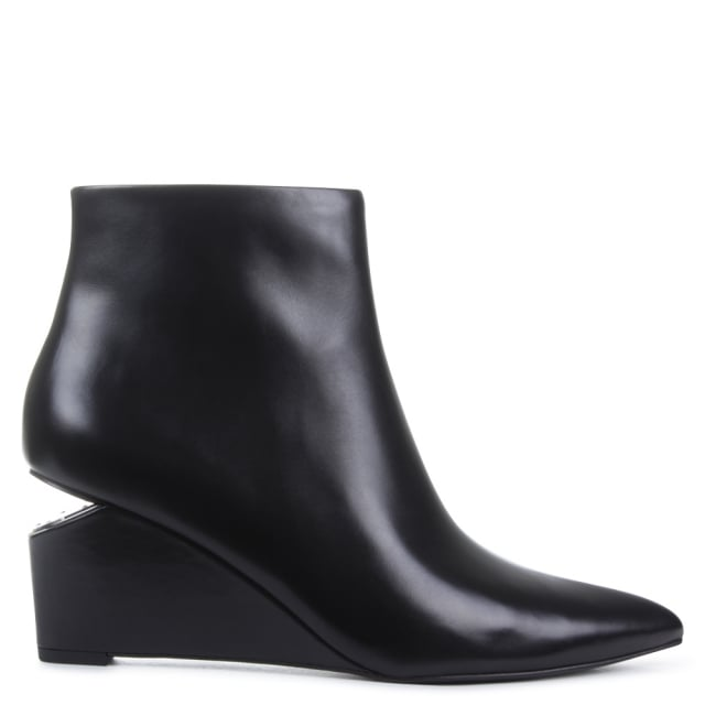 Alexander Wang Liv Black Ankle Boot