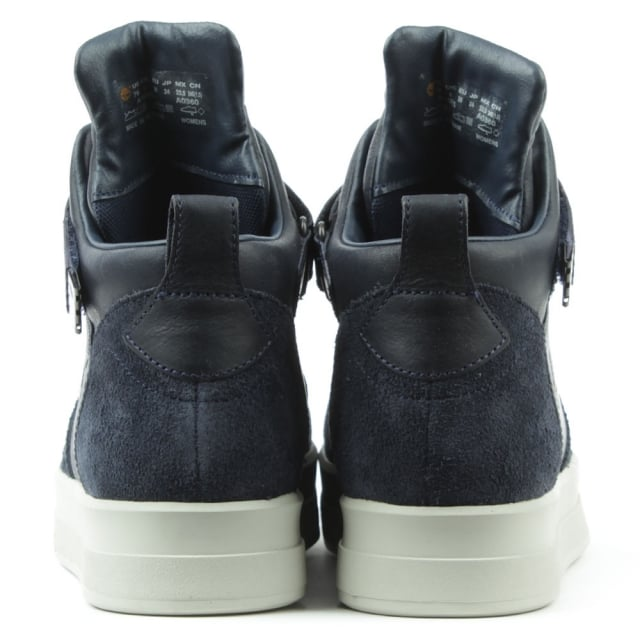 Timberland Mayliss Navy Leather High Top Trainer