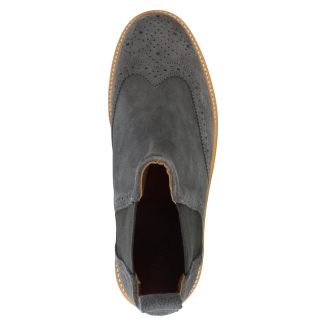 Grenson Alice Grey Suede Chelsea Boot
