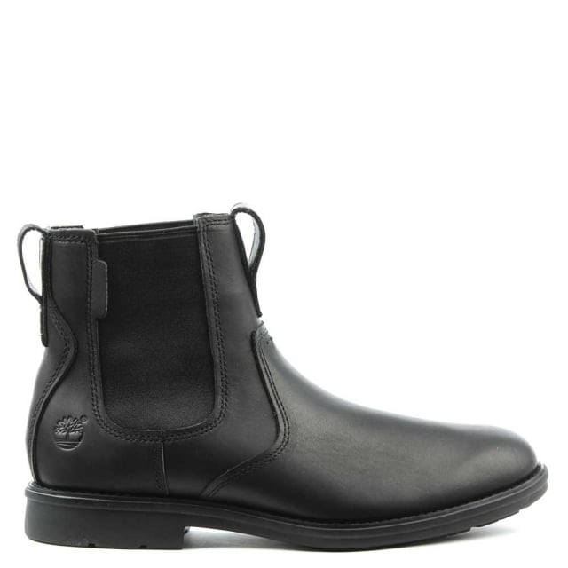 Timberland Men's Carter Black Leather Chelsea Boot