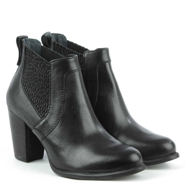 UGG Cobie 2 Black Leather Chelsea Boot