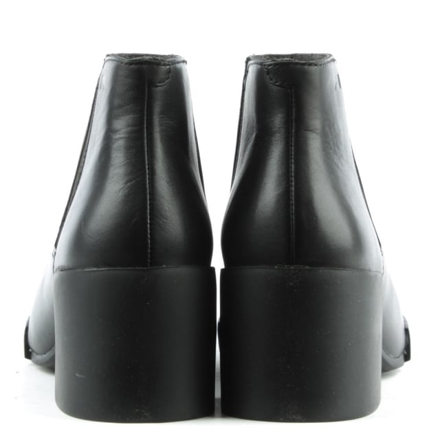 Camper Lotta Black Leather Chelsea Boot