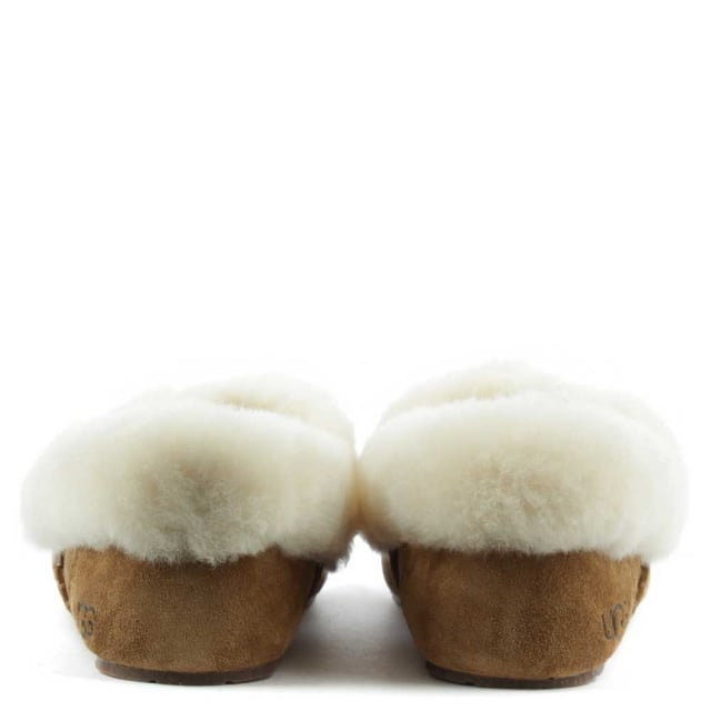 UGG Kendyl Chesnut Suede Sheepskin Slipper