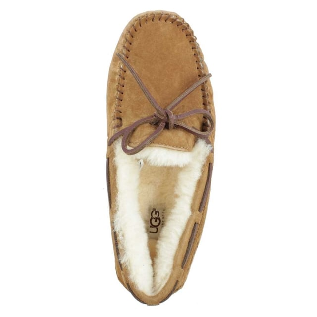 UGG Dakota Chestnut Suede Moccasin Slipper