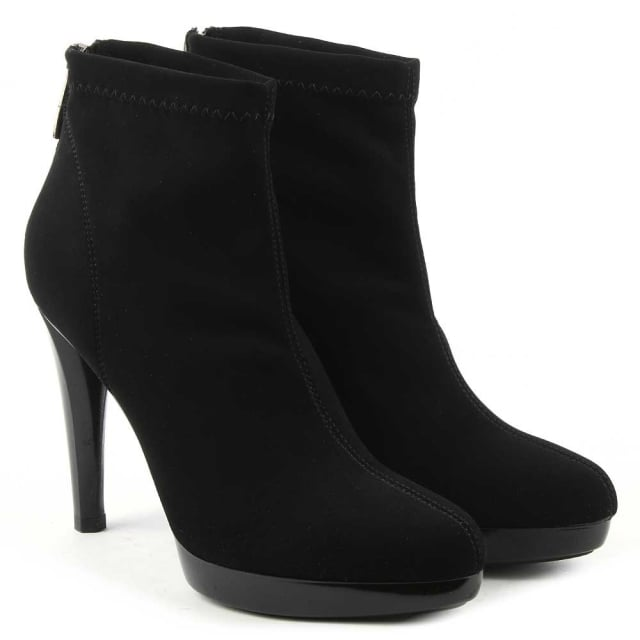 Daniel Ingleton Back Stretch Fabric Ankle Boot