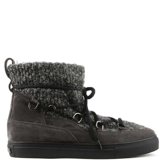 Kennel & Schmenger Abac Grey Suede Shearing Lined Ankle Boot