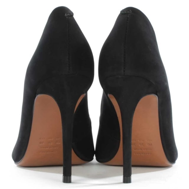 DF By Daniel Skycrambe Black Suede High Court Shoe