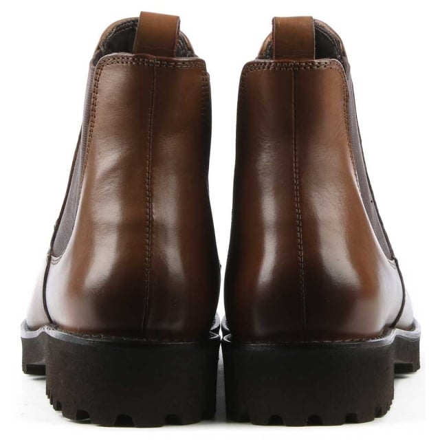 DF By Daniel Burnby Tan Leather Chelsea Boot