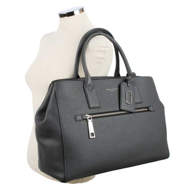 Marc Jacobs Gotham City North South Shadow Leather Tote Bag