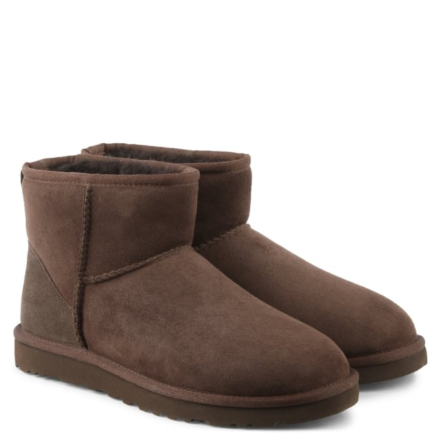 UGG Classic Mini Chocolate Twinface Boot