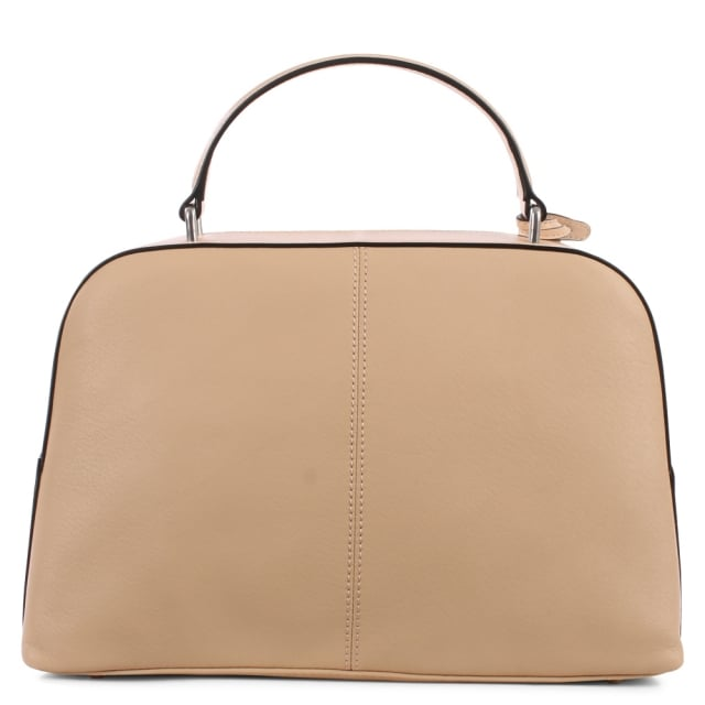 DKNY Lottie Buff Leather Top Handle Messenger Bag