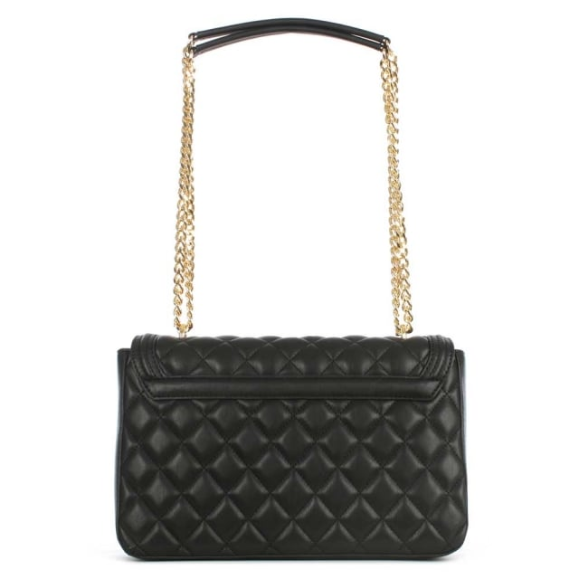 Love Moschino Black Quilted Shoulder Bag
