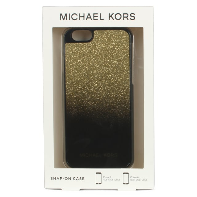 Michael Kors Dip Dye Sparkle Gold iPhone 6/6s Case