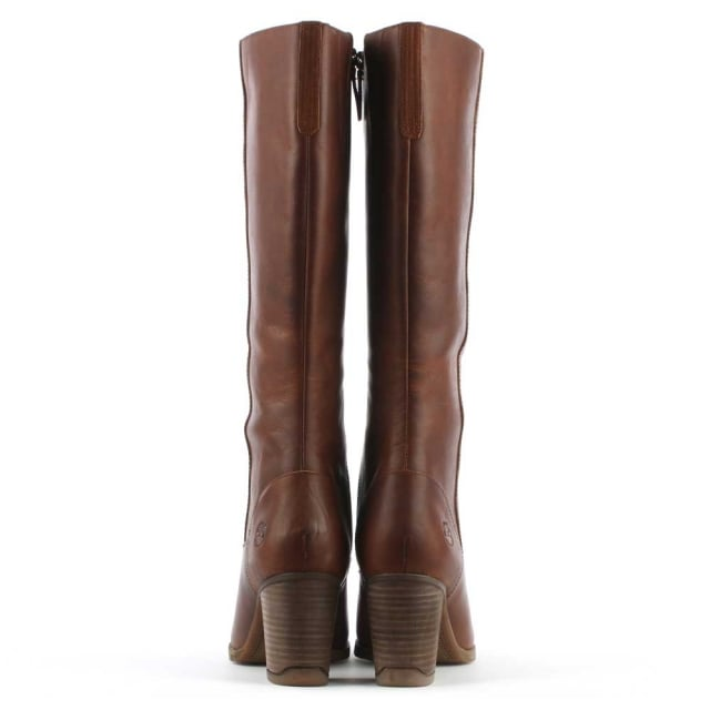 Timberland Atlantic Brown Leather Knee High Boot