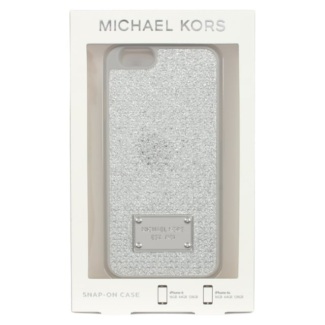 Michael Kors Electronics Silver Glitter iPhone 6/6s Case