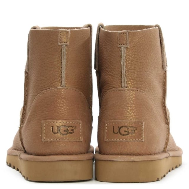 metallic gold ugg boots