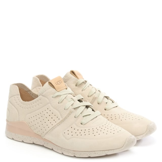 UGG Tye Ceramic Leather Perforated Trainer