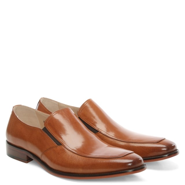 Daniel Henstridge Tan Leather Plain Loafer