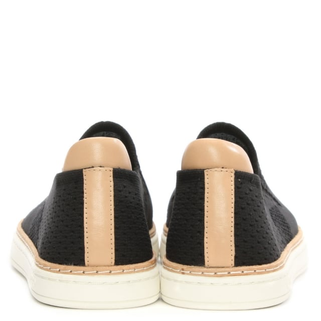 UGG Sammy Black HyperWeave Slip On Trainer