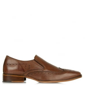 Daniel Gucinari Jay Jay 273 Tan Leather Slip On Brogue