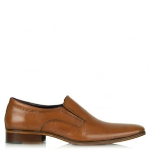 Daniel Gucinari 275 Tan Leather Slip On Shoe
