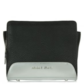 Armani Jeans Beyonce Black Metallic Base Cross-Body Bag