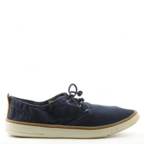 Timberland Earthkeepers Hookset Navy Canvas Lace Up Shoe