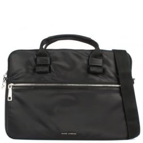 "Marc Jacobs Tech 15"" Black Nylon Computer Case"