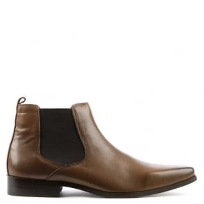 Daniel Bridcutt Tan Leather Chelsea Boot