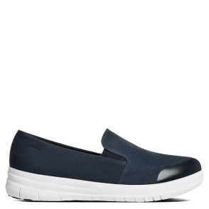 FitFlop Sporty Navy Pop Skate Pump